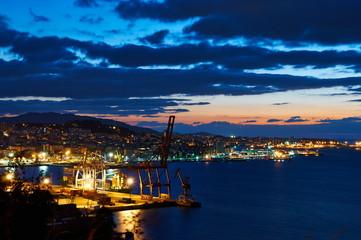 Vigo at night
