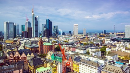 Frankfurt Germany Time Lapse