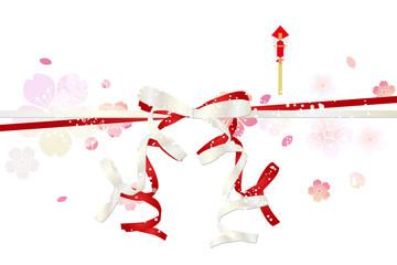 桜  春 熨斗