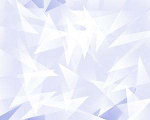 ランダムに並んだ三角形の結晶の背景イラスト