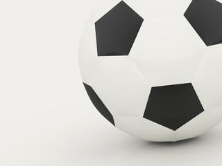 Football ball rendered