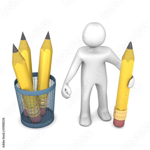 Manikin Pencils