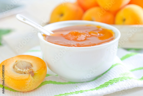 jam and apricot