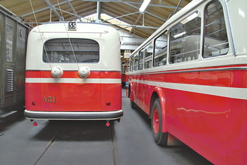 Old Public Transport Vehicles