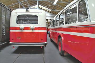 Old Public Transport Vehicles