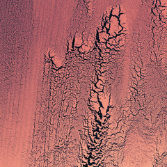 Craquelures surface texture