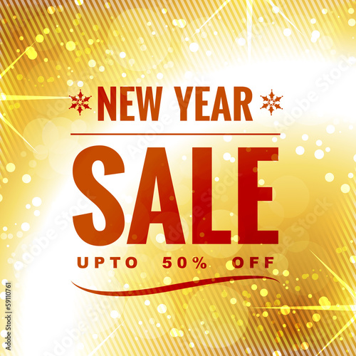 new year sale design