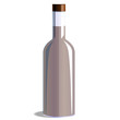 bottle, vector illustration