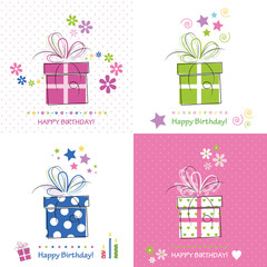 cute happy birthday cards collection