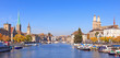 Zurich, view along the Limmat river - 59112190