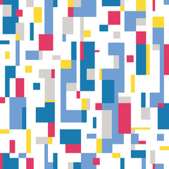 colorful abstract pattern on white background