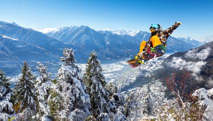 A jump in Valtellina - Italy