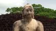 One of the four Buddha statues at Polonnaruwa Vatadage