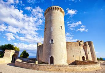 Medieval castle Bellver in Palma de Mallorca
