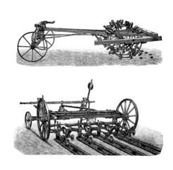 Agricultural Machines : Potatoes Industry - 19th century