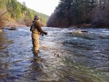 Fly Fishing in Cold Weather in Oregon for Steelhead