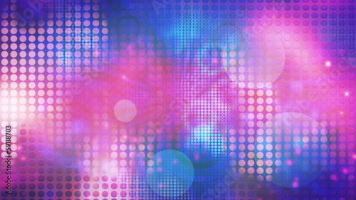 Looping Pattern Retro Abstract Animated Background
