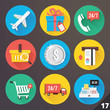Vector Icons for Web and Mobile Applications. Set 17.