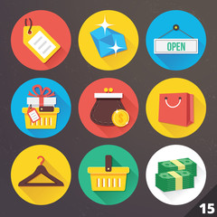 Vector Icons for Web and Mobile Applications. Set 15.