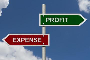 Profit versus Expense