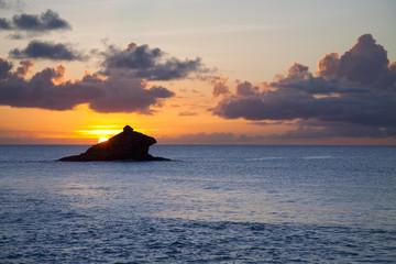 Antigua Hawksbill Rock