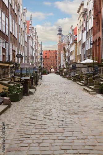 Zdjęcia na płótnie, fototapety, obrazy : Mary's street, Gdansk, Poland