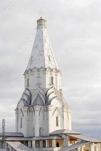 Church of the Ascension in Kolomenskoye. UNESCO heritage.