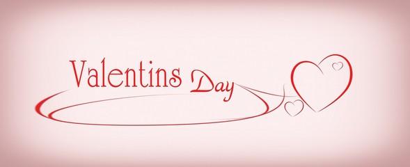 Hintergrund, Background Valentinstag