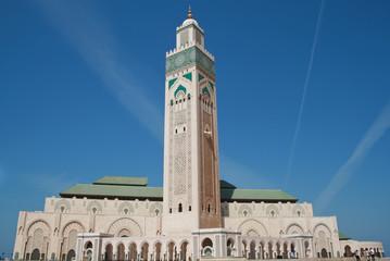 hassan mosque in Casablanca, Maroc