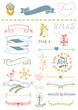 Christmas Vector Set: Design Elements and Page Decoration, Vinta