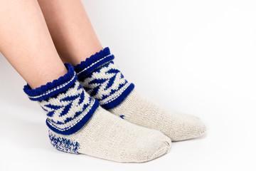 Feet warm socks