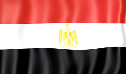 National Flag of Egypt