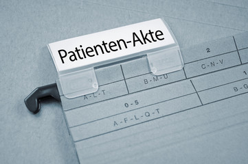 Order mit Patientenakte
