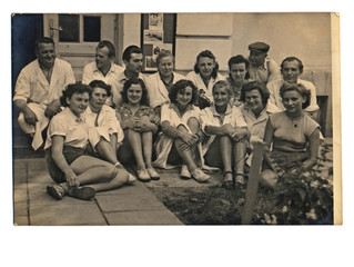 Co-Workers - Circa 1950 - group of people
