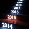 leuchtende Stufen 2015