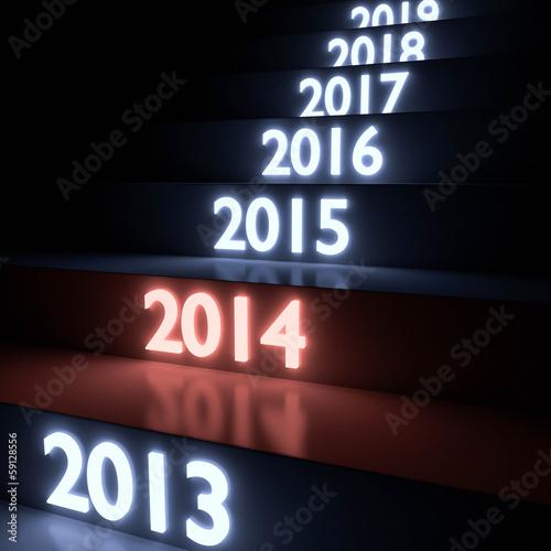 leuchtende Stufen 2014