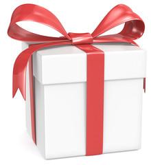 White Gift Box.