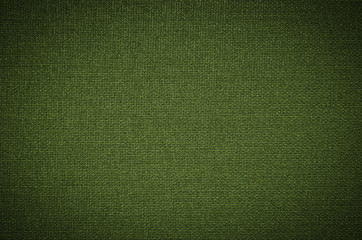 green coarse canvas