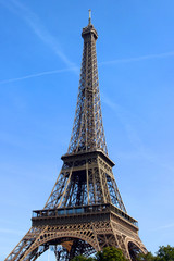 View of paris - tower eiffel