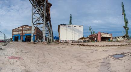 Stocznia Gdanska industrial factory