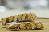 hard almond turron