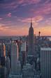 Obrazy na płótnie, fototapety, zdjęcia, fotoobrazy drukowane : Manhattan Sunset