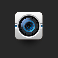 User interface camera icon