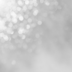 Grey background Beautifull shine of a holiday light