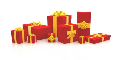 3D - Christmas Gift Boxes (XXIV)