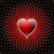 сердце, фон