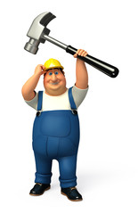 Plumber which hammer