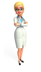 Lady smart Doctor