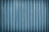 Cool Blue Metal Grunge Background