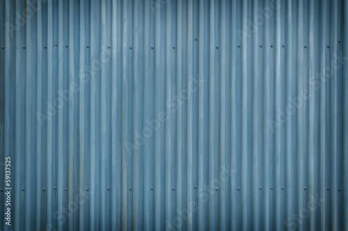 Fotobehang Metal Cool Blue Metal Grunge Background